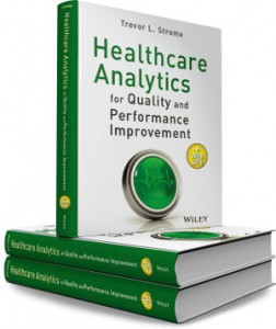 Healthcare Analytics Book Cover - Stacked